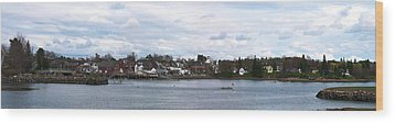 Damariscotta  Wood Print by Guy Whiteley