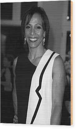 Dame Kelly Holmes 1 Wood Print by Jez C Self