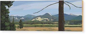 Danaher View Panorama Wood Print