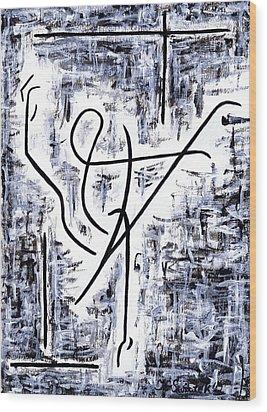 Dance Class Wood Print by Kamil Swiatek