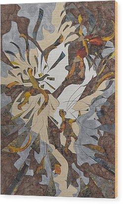 Dance - Joy Wood Print by David Raderstorf
