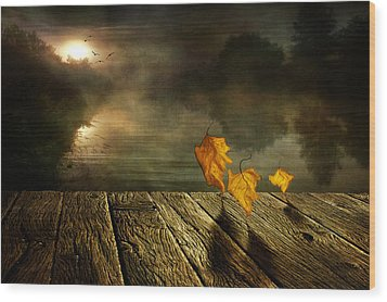 Dance To The Sun Wood Print by Veikko Suikkanen