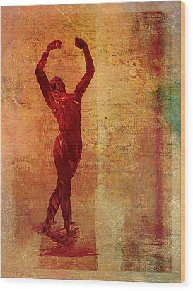 Dancer Wood Print by David Ridley