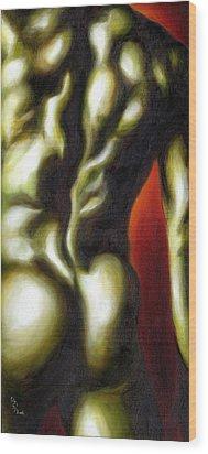 Dancer Two Wood Print by Hiroko Sakai