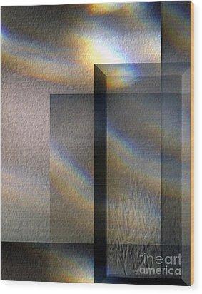 Dancing Sunlight Wood Print by Gerlinde Keating - Galleria GK Keating Associates Inc