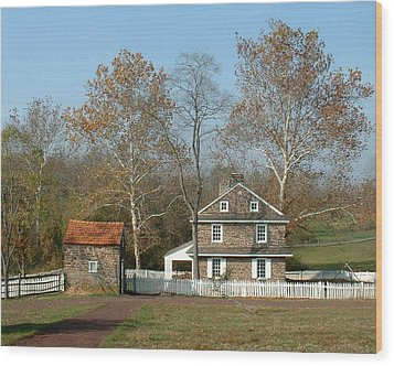 Daniel Boone Homestead Wood Print