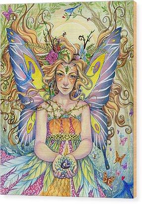 Danielle Wood Print by Sara Burrier