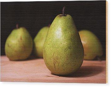 D'anjou Pears Wood Print by Joseph Skompski