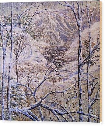 Dans Dream Wood Print