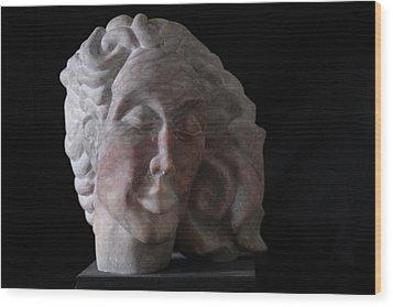 Daphne Wood Print by Michael Marcotte