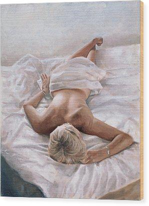 Dappled And Drowsy Wood Print by John Worthington