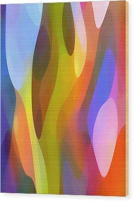 Dappled Light 3 Wood Print by Amy Vangsgard