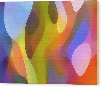 Dappled Light 7 Wood Print by Amy Vangsgard