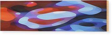 Dappled Light Panoramic 3 Wood Print by Amy Vangsgard