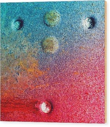 Dark Rose Wood Print by Tom Druin