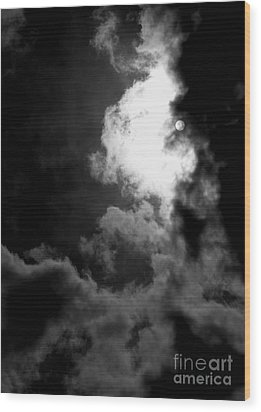 Dark Side Of The Sun Wood Print by Vicki Spindler