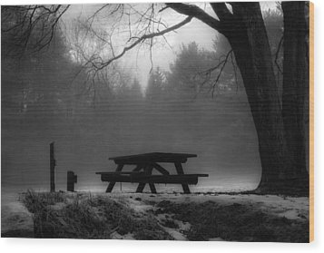 Darkness Falls Wood Print
