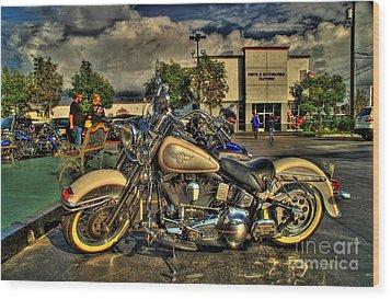 Darrell Keller Memorial Bike Rally Wood Print