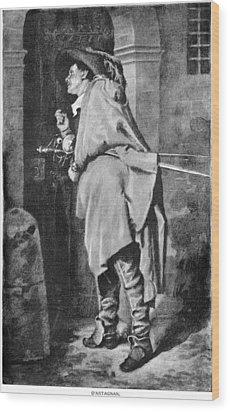 D'artagnan Wood Print