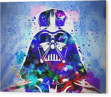 Darth Vader Star Wars Wood Print