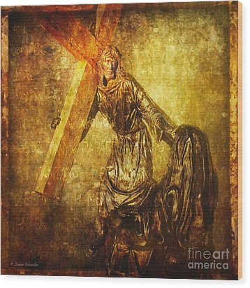 Daughters Of Jerusalem Via Dolorosa 8 Wood Print