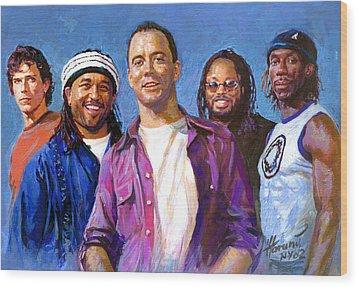 Dave Matthews Band Wood Print