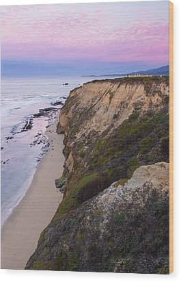 Dawn At Miramontes Point Wood Print by Adam Pender