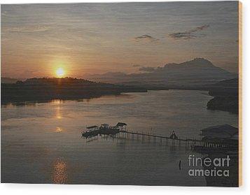 Dawn Break Wood Print