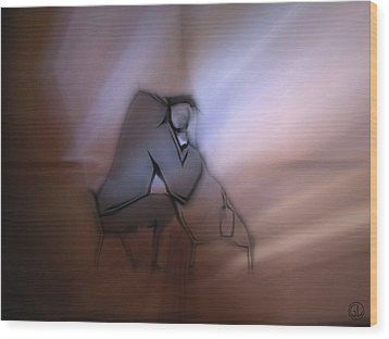 Dawn Wood Print by Gun Legler