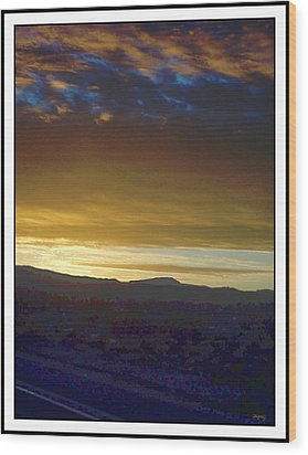 Dawn Of A New Day 2 Wood Print by Glenn McCarthy Art and Photography
