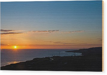 Wood Print featuring the photograph Dawn Of A New Day by Joseph Hollingsworth