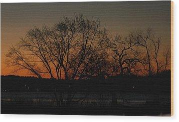 Dawns Early Light Wood Print