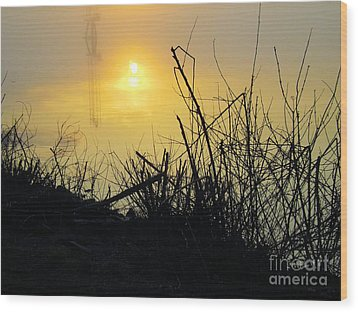 Wood Print featuring the photograph Daybreak by Robyn King