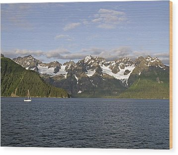 Wood Print featuring the photograph Day Sailing by Sandy Molinaro