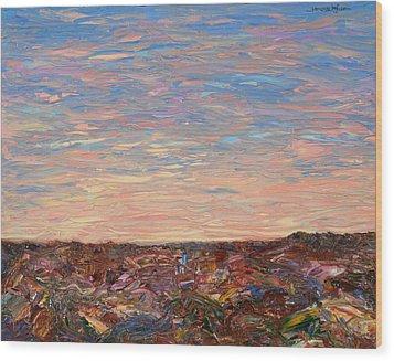 Daybreak Wood Print by James W Johnson