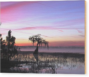 Daybreak Wood Print by Will Boutin Photos