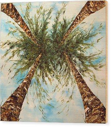 Daydreaming Wood Print by Jean Walker