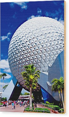 Daylight Dome Wood Print by Greg Fortier