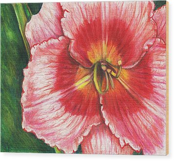 Daylily Delight Wood Print