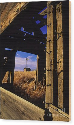 Days Gone By Wood Print by Bob Christopher