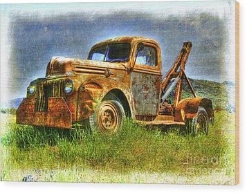 Days Gone By Wood Print