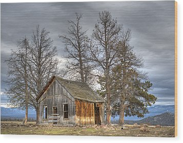 Days Gone By Wood Print by Loree Johnson