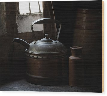 Days Of Old Wood Print by Amy Weiss