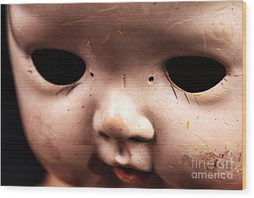 Dead Eyes Wood Print by John Rizzuto