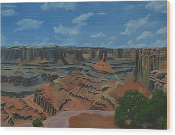 Dead Horse Point Wood Print by Nick Froyd