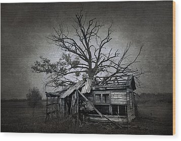 Dead Place Wood Print by Svetlana Sewell