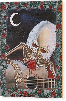 Dead Serenade Wood Print by Gary Kroman