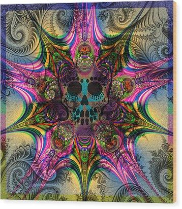 Dead Star Wood Print