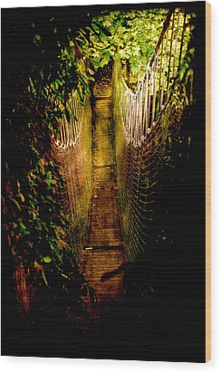 Deadly Path Wood Print by Loriental Photography