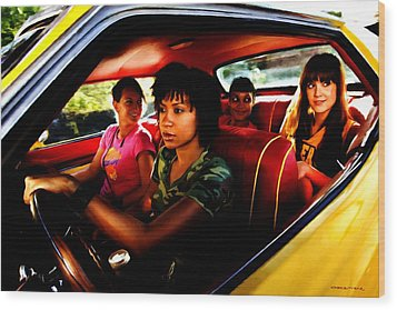 Death Proof - Quentin Tarantino - 2007 Wood Print